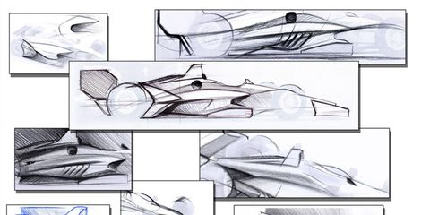 The IndyCar aero kits will have a new look to them for the 2018 season.