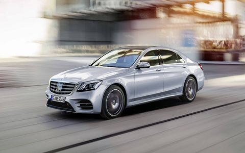 Mercedes is already giving the S-Class a major refresh, with twin-turbo 4.0-liter V8s dropping into the lineup.