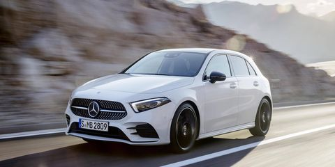Mercedes took the wraps off the all-new 2019 A-Class hatch, a model that will spawn several versions including a sedan headed to the U.S.