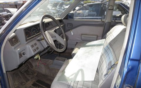 1982 Datsun Stanza in Colorado wrecking yard