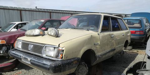 These cars rusted in nanoseconds in oxide-prone regions, but not so much in California.