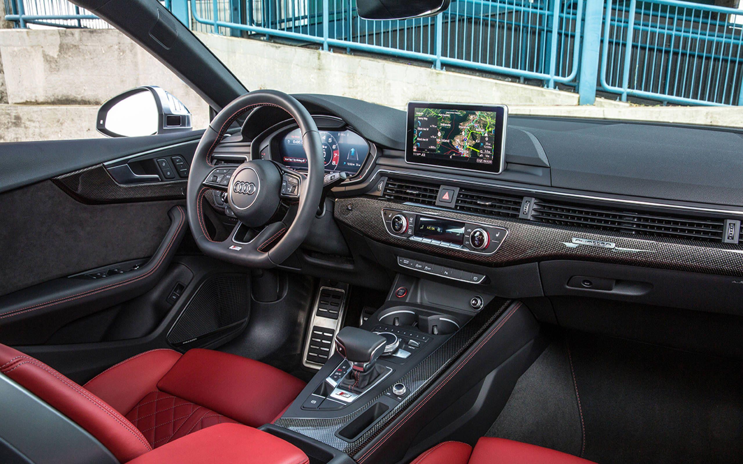 Gallery 2018 Audi S5 Interior