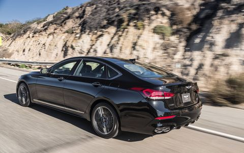 Genesis, the new luxury division of Hyundai, has introduced a new variant of its G80 sedan - the G80 Sport. Powered by a 365-hp 3.3-liter twin-turbo V6 with direct injection, the Sport stickers at $56,225 for rwd and $58,725 for awd. It's on sale now.
