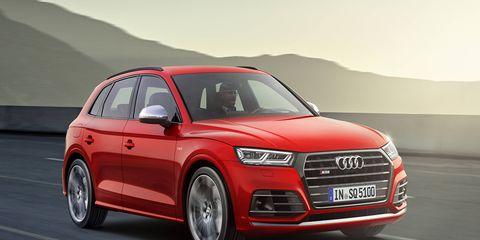The all-new 2018 Audi SQ5 will go on sale in the spring of 2017 with a 3.0-liter TFSI V6 engine underhood good for 354 hp and 369 lb-ft of torque.