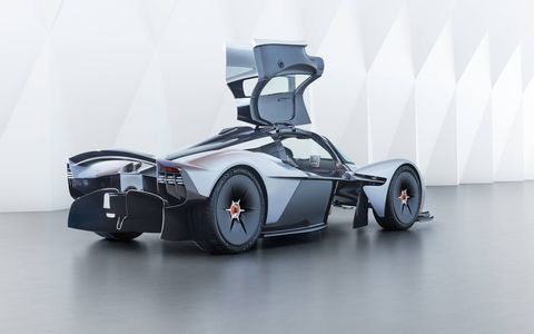 Just 175 examples of the Aston Martin Valkyrie hypercar will be produced, with the first production examples due in 2019.