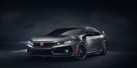 Honda showed a new Civic Type R Prototype in Paris this week.