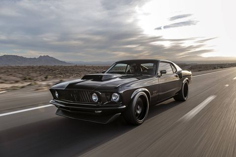 Classic Recreations is building officially licensed Ford Mustang Boss 429 continuation cars.