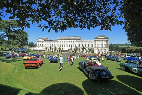 Now in its third year, the Heveningham Hall Concours in the UK looks like a splendid event, with cars on the ground, planes in the sky and even a boat or two on the estate's lake.