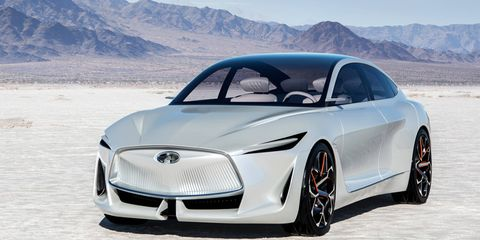 Infiniti took the wraps off the Q Inspiration concept at the Detroit auto show, previewing the brand's latest design direction.