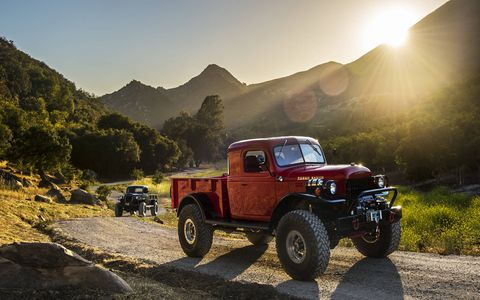 The Legacy Dodge Power Wagon costs from $185,000 to $300,000.