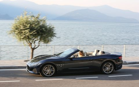 The decade-old Maserati Gran Turismo is aging gracefully, with just a bit of nip and tuck to keep it fresh for 2018. Still powered by the gloriously loud 454-hp naturally aspirated V8, Maserati claims a 0-60 time of just 4.7 seconds. It goes on sale in the fourth quarter of this year in coupe and cabrio form starting at an entirely reasonable $132,825.