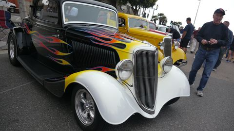 There were a lot of hot rods, a couple Porsches, three Ferraris and the rest big American Iron at the 32nd Annual Seal Beach Classic Car Show last weekend.