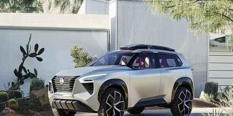 The Xmotion combines architectural themes with traditional crafts in a new compact SUV concept.