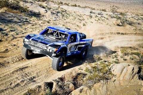 From Trophy Trucks to ATVs there was plenty to see racing in the week leading up to King of the Hammers. The only thing missing was the motorcycle races, which did not run this year. Here is Trophy Truck winner Luke McMillin.