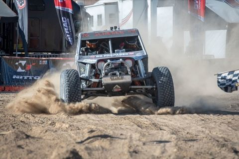 The King of the Hammers is the toughest one-day race in the world. This year Jason Scherer won it, his second victory in a row and third overall.