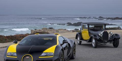 "Bugatti Veyron Grand Sport Vitesse ""1 of 1"" with Type 44"