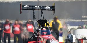 Doug Kalitta game up big with the win in Top Fuel at Pomona.