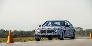 The 2016 BMW 7-series luxury sedan will use a combination of carbon fiber, aluminum and high-strength steel construction.