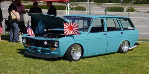 Japanese cars continue their climb to respectability on the collector car scene, as witnessed by the more than doubling in size of the annual Japanese Classic Car Show in Long Beach, Calif. Over 500 cars turned out, every one of them cool in its own way. Here is a Datsun 510