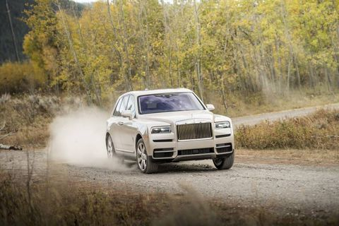 """The Cullinan rides on Rolls-Royce's second application of the all-new and very stiff """"Architecture of Luxury."""" First to get it was the mighty Phantom."""