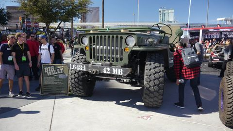 There are Jeeps, and then there are Jeep-like vehicles. Here are our favorites of each. This monster debuted at Burning Man this year.