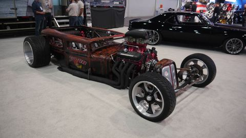 They're not exactly hot rods and they're not exactly cars, but they sure have a lot going on. Behold: The Rat Rods of SEMA.