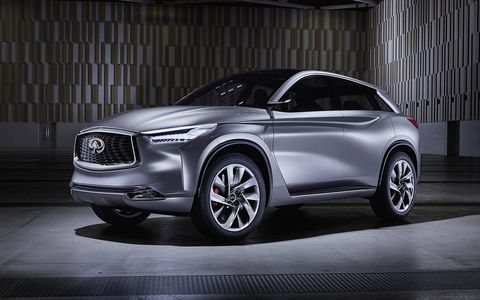 The Infiniti QX Sport Inspiration Concept debuted at the China auto show in Beijing.