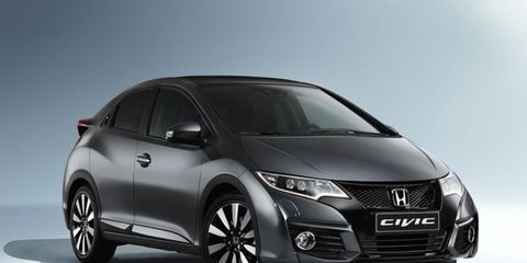 Honda currently offers the Civic hatch in the U.K. and other markets.
