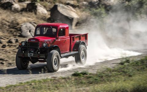 Legacy Classic Trucks remakes Dodge Power Wagons from the drivetrain out.