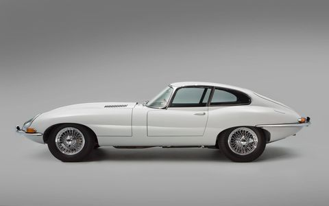 A Jaguar E-Type is always appreciated