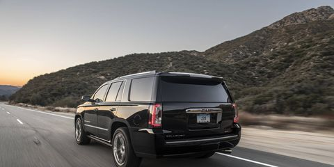 For our test SUV, Callaway started with a GMC Yukon Denali (you can also start with a Chevy Suburban or Cadillac Escalade) and added a supercharger, new wheels, tires and brakes and tuned the suspension to make it into something far sportier than you may have thought possible for something so big and heavy.