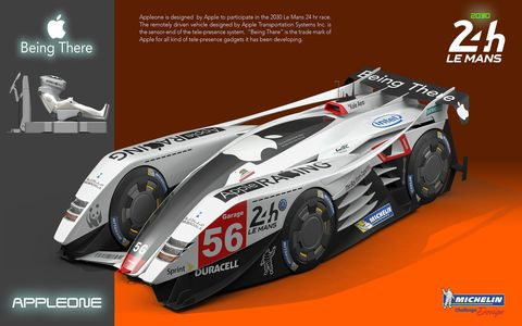 A total of 22 finalists were chosen from more than 1,600 entries representing 80 countries. Over 16 years, the Michelin Design Challenge has received 9,901 entries from 123 countries. The mandate this year to young designers: Create a vehicle for the 2030 24 Hours of Le Mans. Here's a sampling of designs turned in by some of the finalists.