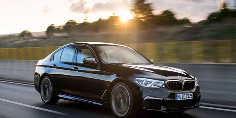 The new BMW 5 Series soldiers on to its seventh generation at the Detroit Auto Show.