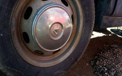 Still has hubcaps.