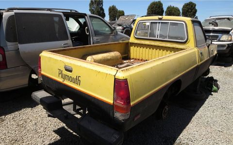 This one is a nice, rust-free California truck, but that doesn't mean anyone cared enough to rescue it from this sorry fate.