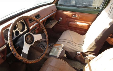 It has the optional automatic transmission but otherwise a basic Chevette sedan.