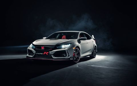 The Type R's Nurburgring-tuned chassis builds further on the 10th-gen Civic's upgrades with Type R-exclusive spring, damper and bushing settings.