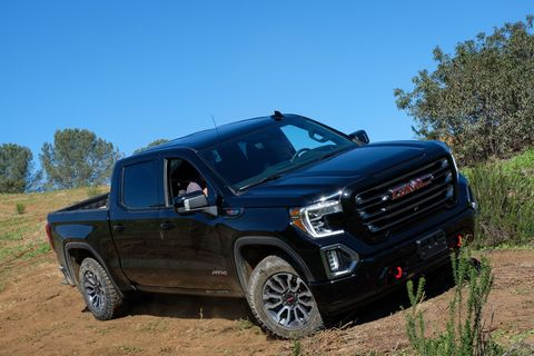 """""""The 2019 Sierra AT4 is designed for the customer who wants an elevated presence on the road and the capability to venture off life's beaten path,"""" said  Duncan Aldred, vice president of Global GMC."""