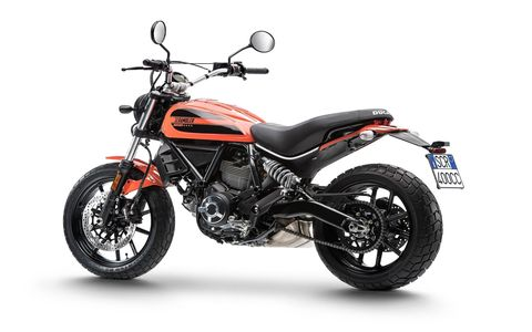"Ducati says, ""Sixty2 is a Scrambler inspired by youth street culture, skateboards, street food, pop music and, above all, the pop art that, back in 1962 (the year the very first Ducati Scrambler was launched), was taking the United States by storm."""