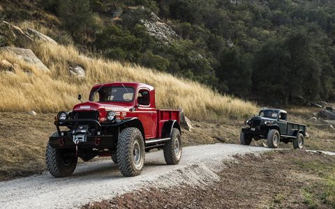 Legacy Power Wagons come in regular and extended cabs as well as the Carryall SUV configuration.