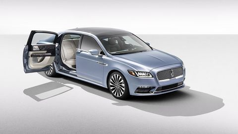 Lincoln plans to produce 80 Coach Door Continentals for the 2019 model year, and a number of cars for 2020 as well.