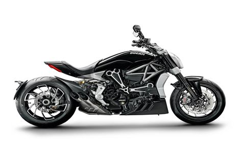Ducati doubles down on the cruiser market with the XDiavel,a n almost-all-new successor to the popular Diavel. It's more sport bike than cruiser, maybe, but it's a Ducati, so you have to expect a little more performance.