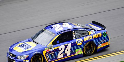 Chase Elliott ran a lap of 192.872 to secure his second career Daytona 500 pole Sunday.