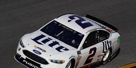 Ford driver Brad Keselowski has an impressive superspeedway record, but no Daytona 500 wins.