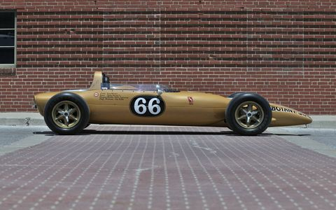 One of the previous turbine builds was the 1967 STP Oil Treatment Special that became the first turbine powered car to qualify for the Indy 500.