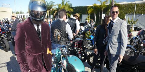 The Distinguished Gentleman's Ride took place Sunday Sept. 24 in cities around the world to raise money for men's health issues. We rode a CB1100 to the LA event.