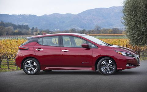 The Leaf has been the number-one-selling electric car since its launch in 2010.