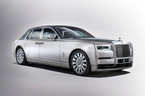 The new Phantom is the first one to get Rolls' all-new all-aluminum, or al-you-min-eee-um architecture.