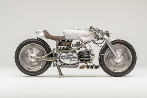 """From a small town near Cork, Ireland, Medaza Cycles grabbed the traditional custom motorcycle world by the nose, winning the AMD World Championship of Custom Bike Building in 2013. The single-cylinder Italian motorcycle had prevailed against the long legacy of V-twin-based customs, planting the flag of the alt. custom movement at the heart of the old custom world. That the """"Rondine"""" was voted the winner by a jury of its bike-building peers speaks volumes about the changes in the global custom scene."""