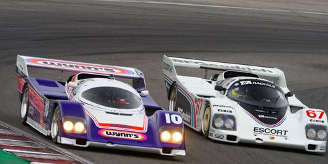 Jim Torres 1986 962 raced in IMSA from 1986-'88; Jeffrey Sprecher's 1985 model was campaigned in IMSA and at Le Mans